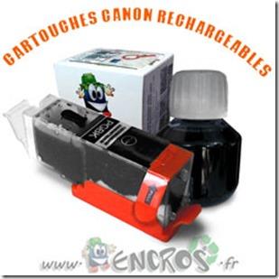 CARTOUCHE-RECHARGEABLE-CANON-PGI550-NOIR