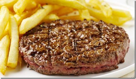 steak imprimé